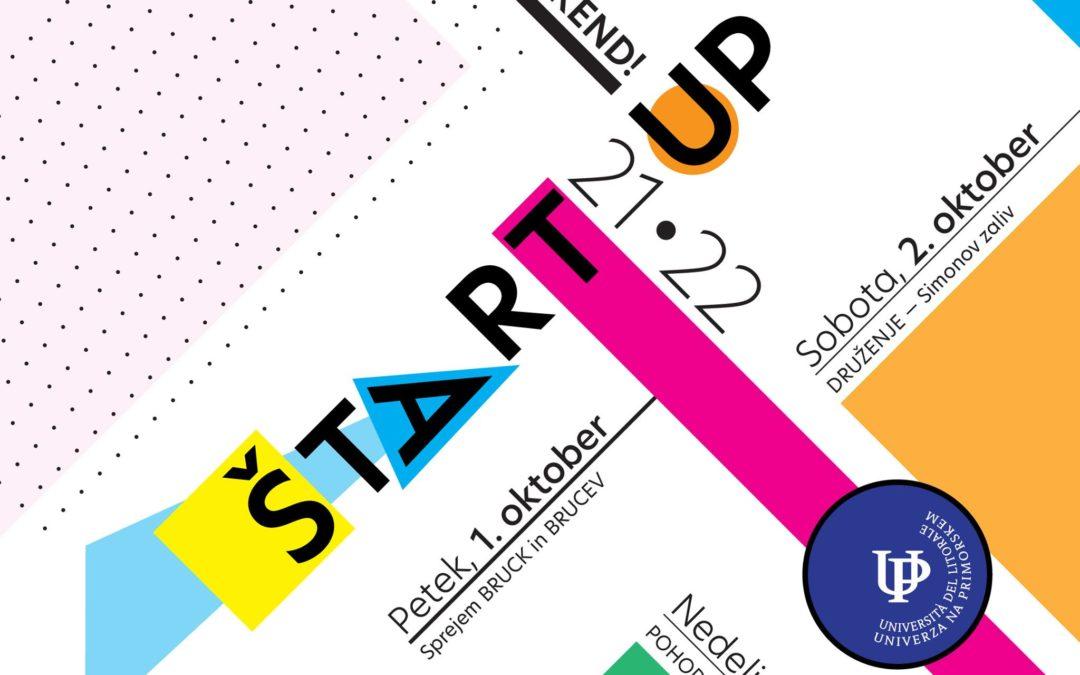 ŠtartUP – Začetek študijskega leta 2021/2022